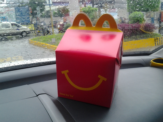 Happy Meal Box Makes a Comeback