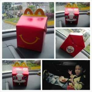 The iconic Happy Meal packaging makes a 'jolly' comeback