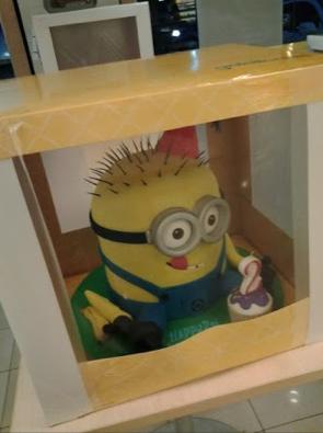 A Minion Cake? Whuuut?