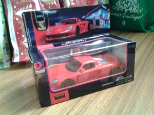Prosche Carrera GT: One of the five new Limited Edition Petron Collectibles