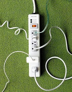 "Power Strips make it easier to ""unplug"" unused appliances"
