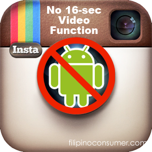 FC Instagram No Android 16sec