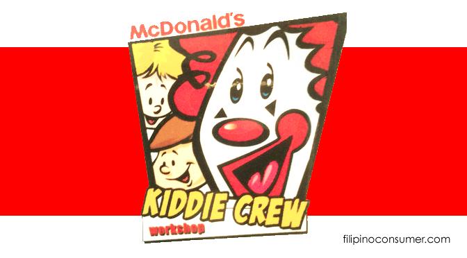 Kiddie Summer Fun at McDonalds