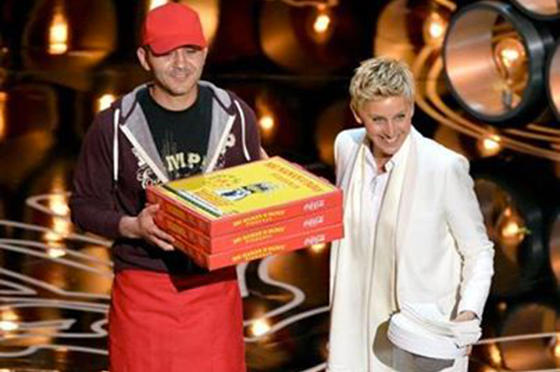 Story Behind Pizza man at the Oscar's