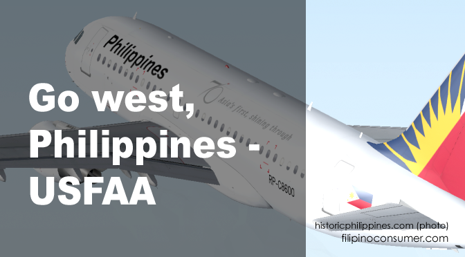 USFAA: PH, Time to 'Go West'