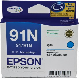 FC Epson Ink Cartridges 91N Cyan