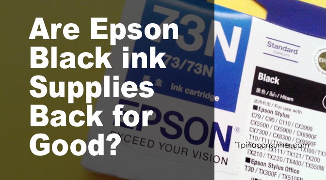 Epson Finally Brings Back the Black