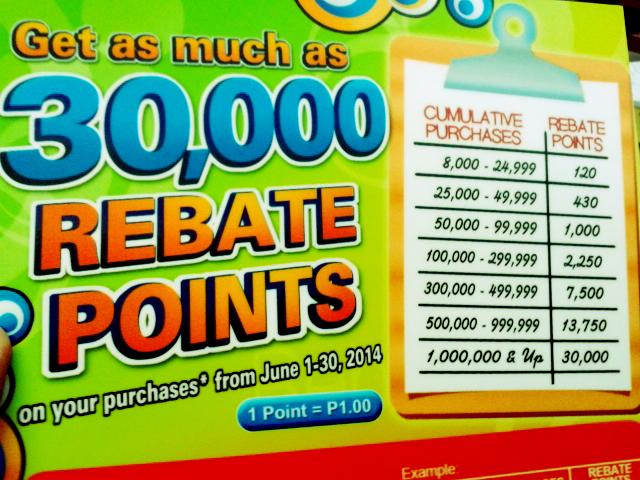 FC Super 8 Rebate Points